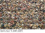 Купить «Каменная стена из булыжника», фото № 1041691, снято 7 июля 2009 г. (c) Алексей Лебедев / Фотобанк Лори
