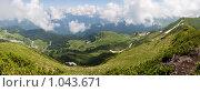 Купить «Горы Абхазии», фото № 1043671, снято 22 июля 2009 г. (c) Александр Шуников / Фотобанк Лори