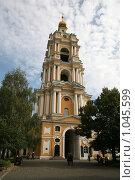 Купить «Колокольня Новоспасского монастыря в Москве», фото № 1045599, снято 21 сентября 2008 г. (c) Журавлева Виктория / Фотобанк Лори