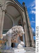 Купить «Крым.Воронцовский дворец», фото № 1046635, снято 15 июня 2009 г. (c) Андрей Ганночка / Фотобанк Лори