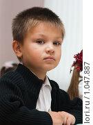 Купить «Первоклассник», фото № 1047887, снято 20 августа 2009 г. (c) Оксана Гильман / Фотобанк Лори