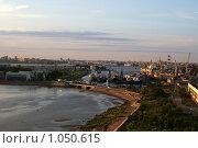 """Санкт-Петербург, остров """"Белый"""" и вид на порт (2009 год). Стоковое фото, фотограф Дмитрий Жеглов / Фотобанк Лори"""