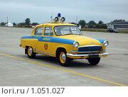 Купить «Автомобиль Волга ГАЗ-21», фото № 1051027, снято 23 августа 2009 г. (c) Александр Гаврилов / Фотобанк Лори