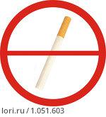 """Купить «Знак """"Курение запрещено""""», фото № 1051603, снято 16 августа 2018 г. (c) Давыдов Артем / Фотобанк Лори"""