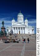 Купить «Кафедральный собор, Хельсинки», фото № 1052491, снято 13 ноября 2018 г. (c) Криволап Ольга / Фотобанк Лори