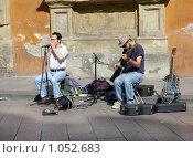 Уличные музыканты (2008 год). Редакционное фото, фотограф Мальцева Наталья / Фотобанк Лори