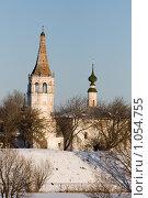 Суздаль. Никольская церковь на территории кремля (1720-1739гг.) (2008 год). Редакционное фото, фотограф Михаил Ворожцов / Фотобанк Лори