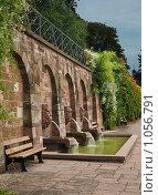 Купить «Парк возле древнеримской виллы. Ашаффенбург», фото № 1056791, снято 9 августа 2009 г. (c) Lina Kurbanovsky / Фотобанк Лори
