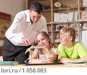 Купить «На уроке зоологии», фото № 1058083, снято 27 августа 2009 г. (c) Майя Крученкова / Фотобанк Лори