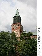 Купить «Кафедральный собор (г. Турку. Финляндия)», фото № 1061011, снято 2 августа 2009 г. (c) Александр Секретарев / Фотобанк Лори