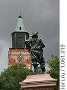Купить «Кафедральный собор (г. Турку. Финляндия)», фото № 1061019, снято 2 августа 2009 г. (c) Александр Секретарев / Фотобанк Лори