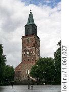 Купить «Кафедральный собор (г. Турку. Финляндия)», фото № 1061027, снято 2 августа 2009 г. (c) Александр Секретарев / Фотобанк Лори