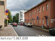 Купить «Городской пейзаж (г. Турку. Финляндия)», фото № 1061039, снято 2 августа 2009 г. (c) Александр Секретарев / Фотобанк Лори