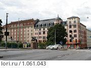 Купить «Городской пейзаж (г. Турку. Финляндия)», фото № 1061043, снято 2 августа 2009 г. (c) Александр Секретарев / Фотобанк Лори