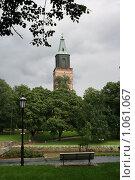 Купить «Кафедральный собор (г. Турку. Финляндия)», фото № 1061067, снято 2 августа 2009 г. (c) Александр Секретарев / Фотобанк Лори
