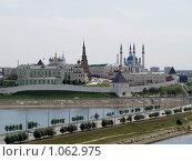Купить «Казанский кремль», эксклюзивное фото № 1062975, снято 25 августа 2009 г. (c) Алина Голышева / Фотобанк Лори