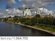 Купить «Вид на Троицкий соборо Псковского кремля», фото № 1064755, снято 14 августа 2009 г. (c) Ямаш Андрей / Фотобанк Лори