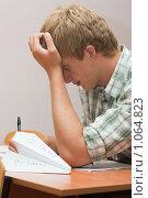 Купить «Подготовка к экзаменам», фото № 1064823, снято 20 августа 2009 г. (c) Оксана Гильман / Фотобанк Лори