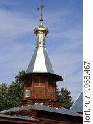 Купить «Колокольня», фото № 1068467, снято 17 августа 2009 г. (c) Василий Пешненко / Фотобанк Лори