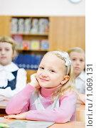 Купить «Ученик начальной школы», фото № 1069131, снято 20 августа 2009 г. (c) Евгений Захаров / Фотобанк Лори