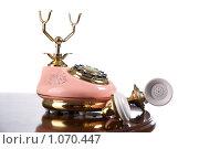 Старый телефон. Стоковое фото, фотограф Гордиенко Олег / Фотобанк Лори