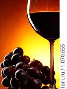 Купить «Красное вино», фото № 1070655, снято 2 сентября 2009 г. (c) Роман Сигаев / Фотобанк Лори