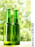 Купить «Бутылки с пивом», фото № 1070703, снято 22 июля 2009 г. (c) Роман Сигаев / Фотобанк Лори