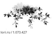 Купить «Заставка: ветка», иллюстрация № 1073427 (c) Кондорский Дмитрий / Фотобанк Лори