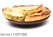 Купить «Луковый пирог», фото № 1077059, снято 31 июля 2009 г. (c) Елисей Воврженчик / Фотобанк Лори
