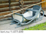 Купить «Сани», фото № 1077699, снято 27 августа 2009 г. (c) Типляшина Евгения / Фотобанк Лори
