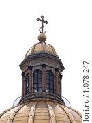 Купить «Исаакиевский собор, фрагмент», фото № 1078247, снято 3 сентября 2009 г. (c) Андрюхина Анастасия / Фотобанк Лори