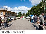Купить «Торговые ряды в Касимове», фото № 1078435, снято 18 августа 2018 г. (c) Александр Трушкин / Фотобанк Лори