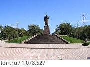 Купить «Памятник Абаю Кунанбаеву в Караганде», фото № 1078527, снято 7 сентября 2009 г. (c) Михаил Николаев / Фотобанк Лори