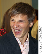 Купить «Аршавин Андрей», фото № 1078567, снято 2 сентября 2008 г. (c) Александр Николаев / Фотобанк Лори
