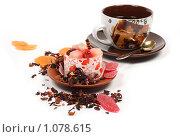 Купить «Кофе и десерт», фото № 1078615, снято 29 июля 2009 г. (c) Елисей Воврженчик / Фотобанк Лори