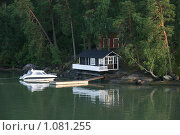Купить «Остров у берегов Финляндии», фото № 1081255, снято 2 августа 2009 г. (c) Александр Секретарев / Фотобанк Лори