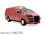 Купить «Фургон будущего», иллюстрация № 1082747 (c) ИЛ / Фотобанк Лори