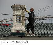 Купить «Женщина за работой», фото № 1083063, снято 10 сентября 2009 г. (c) Зуев Андрей / Фотобанк Лори