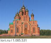Храм Ачаирский монастырь. Стоковое фото, фотограф Андрей Бабкин / Фотобанк Лори