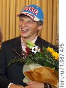 Купить «Андрей Аршавин», фото № 1087475, снято 2 сентября 2008 г. (c) Александр Николаев / Фотобанк Лори