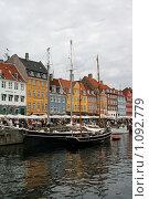 Купить «Дания. Копенгаген. Городской пейзаж.», фото № 1092779, снято 4 августа 2009 г. (c) Александр Секретарев / Фотобанк Лори