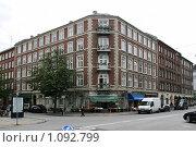Купить «Дания. Копенгаген. Городской пейзаж.», фото № 1092799, снято 4 августа 2009 г. (c) Александр Секретарев / Фотобанк Лори