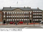 Купить «Дания. Копенгаген. Городской пейзаж.», фото № 1092803, снято 4 августа 2009 г. (c) Александр Секретарев / Фотобанк Лори