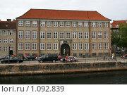 Купить «Дания. Копенгаген. Городской пейзаж.», фото № 1092839, снято 4 августа 2009 г. (c) Александр Секретарев / Фотобанк Лори
