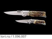 Купить «Два перочинных ножа, большой и маленький», фото № 1096007, снято 12 июля 2008 г. (c) pzAxe / Фотобанк Лори