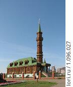 Купить «Деревянная мечеть на улице Амирхана в Казани», фото № 1096027, снято 6 сентября 2009 г. (c) Ирина Андреева / Фотобанк Лори