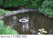 Загрязненная речка. Стоковое фото, фотограф 1 / Фотобанк Лори