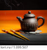 Купить «Чай», фото № 1099507, снято 10 сентября 2009 г. (c) Соловьев Владимир Александрович / Фотобанк Лори