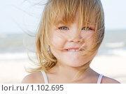 Купить «Портрет девочки», фото № 1102695, снято 8 сентября 2009 г. (c) Анатолий Типляшин / Фотобанк Лори