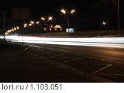 Купить «Ночная МКАД», фото № 1103051, снято 29 июня 2007 г. (c) Erudit / Фотобанк Лори